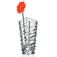 Bohemia Jihlava Bohemia Jihlava skleněná váza Rocky 28,5 CM