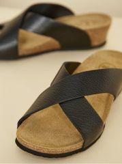 OJJU černé dámské pantofle