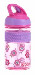 Nuby lonac za piće, izrađen od tritana, ružičasti