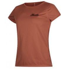 Mystic Quickdry Diva ženska majica s kratkim rukavima, UPF 50+, 318-Rusty Red