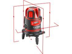 Extol Premium laser červený liniový, křížový samonivelační
