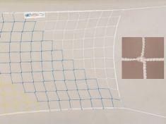KV Sieť volejbalová sa šnúrou biela