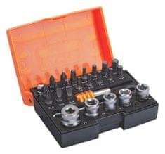 Bahco Sada skrutkovacích hrotov a nástrčných kľúčov 2058/S26-2, 26 dielna