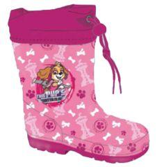 """SETINO Lány gumicsizma """"Mancs örjárat"""" - világos rózsaszín"""