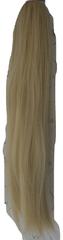 Vipbejba Syntetický culík se skřipcem, rovný, barva světlá blond F18