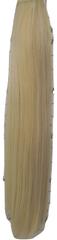 Vipbejba Sintetični čop na trak, raven, zlato blond #613, 50cm/90g
