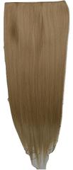 Vipbejba Flip-in/neviditeľné syntetické predĺženie vlasov, rovné, svetlé blond pramene F15