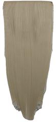 Vipbejba Flip-in/neviditeľné syntetické predĺženie vlasov, rovné, farba platinová blond F19