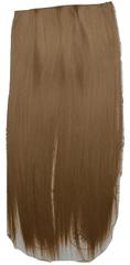Vipbejba Flip-in/neviditelné syntetické prodloužení vlasů, rovné, barva karamel F8