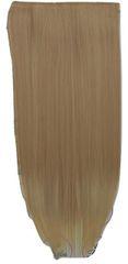 Vipbejba Flip-in/neviditelné syntetické prodloužení vlasů, rovné, barva cappuccino Y5