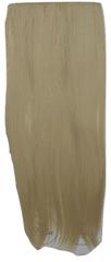 Vipbejba Sintetični clip-on lasni podaljški na 1 zaveso, ravni, svetlo blond F18