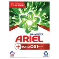 Ariel AquaPuder OXI Extra Hygiene Mosópor, 53 mosásra