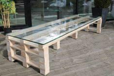 Moduleta Konferenční stůl velký Velikost: Sklo
