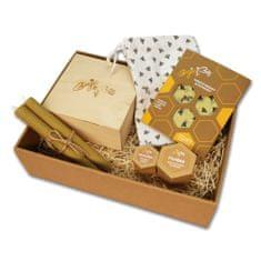 BajaBee Darčekový box BajaBee - žlté včielky