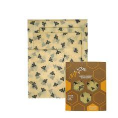 "BajaBee Voskové obrúsky ""BajaBee"" - Multipack, žlté včielky"