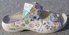 Nursing Care VIENA dámská pantofle pratelná sovičky WG8F57 Nursing Care Velikost: 37
