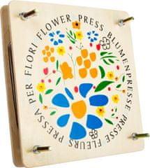 Small foot Dřevěný lis na květiny