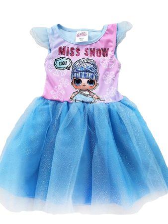 """Eplusm Gyerek ruhák """"LOL"""" - kék - 116–122 / 6–7 év"""