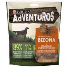 Purina Adventuros pasji priboljški, z bizonom in brusnično omako, 6x 90 g