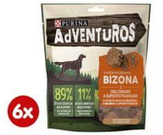 Purina ADVENTUROS s bizónom a brusnicovou šťavou 6 x 90 g