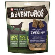 Purina Adventuros pasji priboljški, z divjačino in brusnično omako, 6x 90 g