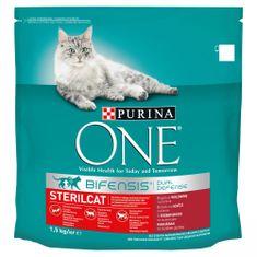 Purina ONE Bifensis Sterilcat s hovädzím a pšenicou 1,5 kg