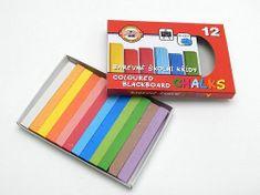 Koh-i-noor křídy školní barevné 12 ks