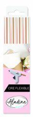 Aladine pružný pečetní vosk - perleťový 4 ks