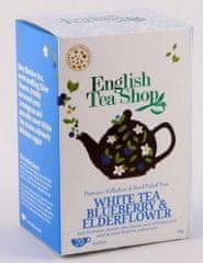English Tea Shop Bílý čaj bezový květ a borůvky