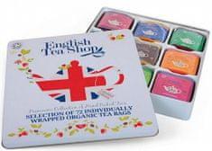 English Tea Shop Dárková plech kazeta Union Jack/9 příchutí