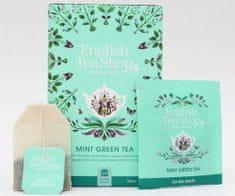 English Tea Shop Máta a zelený čaj - design mandala