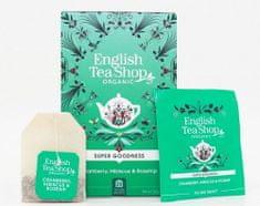 English Tea Shop Brusinka, ibišek a šípek - design mandala