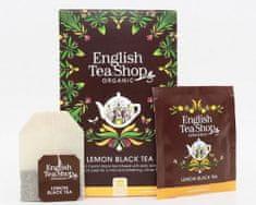 English Tea Shop Citron s černým čajem - design mandala