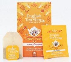 English Tea Shop Kurkuma, zázvor a citronová tráva - design mandala