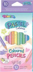 Pastel - kulaté pastelky 10 barev
