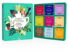 English Tea Shop Prémiová dárková plechová kazeta s bio čaji Ultimate collection 136 g, 72 ks