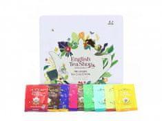 English Tea Shop Luxusní dárková plechová kazeta bio čajů Klasik 136 g, 72 ks
