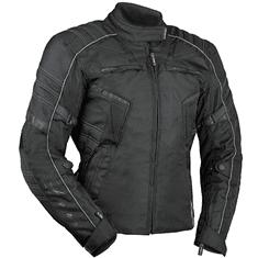 MBW MIRANDA textilní dámská moto bunda černá Velikost: 40
