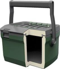 Stanley 10-01622-060 Przenośne chłodzące pudełko pasywne Seria przygodowa 6,6l zielona nowa