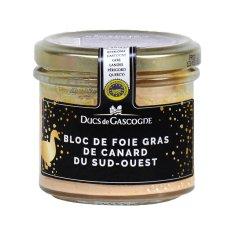 Ducs de Gascogne  Kachní Foie Gras z Jihozápadu Francie v bloku (sklo), 90g