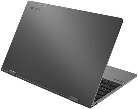 Notebook VisionBook  (UMM220V14) multitasking výkon videa aplikace intel celeron