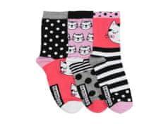 United Odd Socks Veselé ponožky Clara 3ks veľ.: 37-42