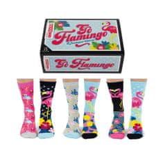 United Odd Socks Veselé ponožky Go Flamingo veľ.: 37-42
