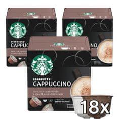 Starbucks Cappucino 12 kapsúl 120 g 3 balenia
