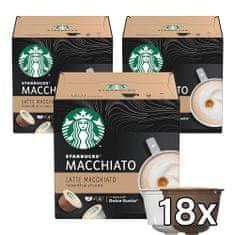 Starbucks by Nescafé Dolce Gusto Latte Macchiato, 3 balenia