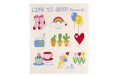 Anneko handra do kuchyne Life is good 18 x 20 cm