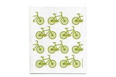 Jangneus handra do kuchyne zelené bicykle 18x 20cm
