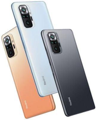 Xiaomi Redmi Note 10 Pro dlouhá výdrž baterie, velká kapacita baterie, rychlé nabíjení, rychlonabíjení 33 W nízká spotřeba baterie čip Qualcomm® Snapdragon™ 678