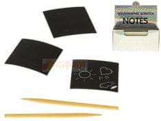 Benjamín Kreativní sada škrábacích papírů 100 ks s perem
