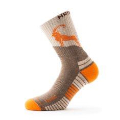 Hribovc.si Pohodne nogavice Kozorog - oranžne